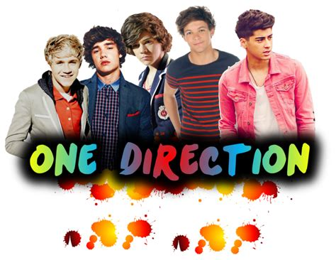 imagenes png one direction one direction png paints effect by shatteredmagic21 on