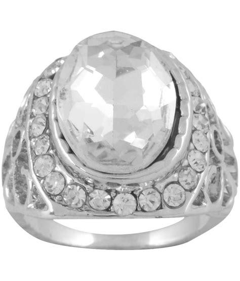 gauuhar designer silver ring buy gauuhar designer silver