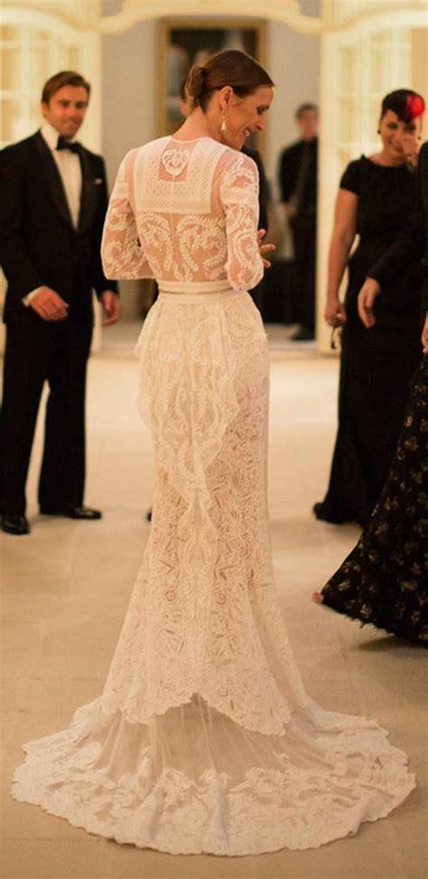custom wedding dress wedding dresses custom made givenchy lace wedding dress 1910849 weddbook