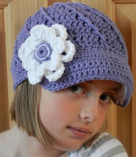 pattern crochet hat free crochet hat pattern newsboy pakbit for