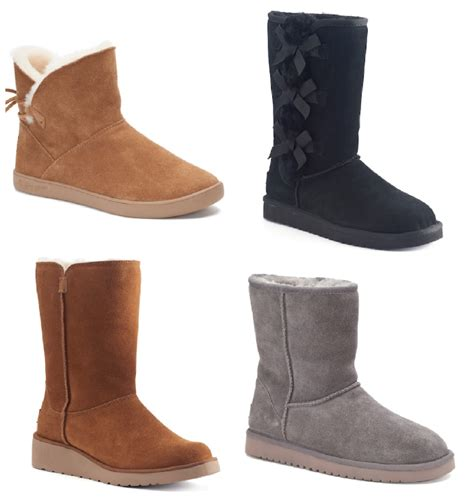 kohl s winter boots kohl s koolaburra by ugg winter boots as low as 64 99