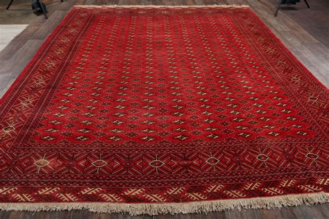 10x12 Area Rug 10x12 Turkoman Persian Area Rug