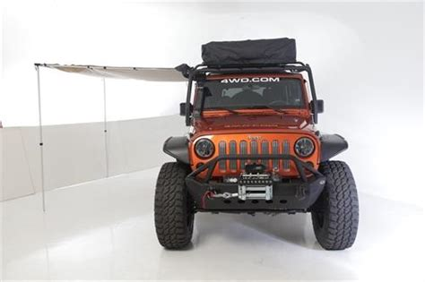 jeep wrangler awning sb2784 smittybilt retractable awning jeep wrangler jk