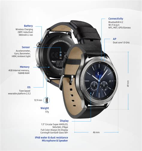 Harga Samsung Gear S3 Classic Lte samsung gear s3 classic lte coming soon notebookcheck