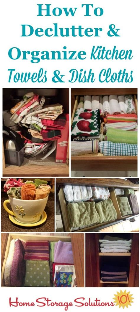 how to declutter kitchen declutter kitchen towels dish cloths 15 minute mission towels dr who and cloths