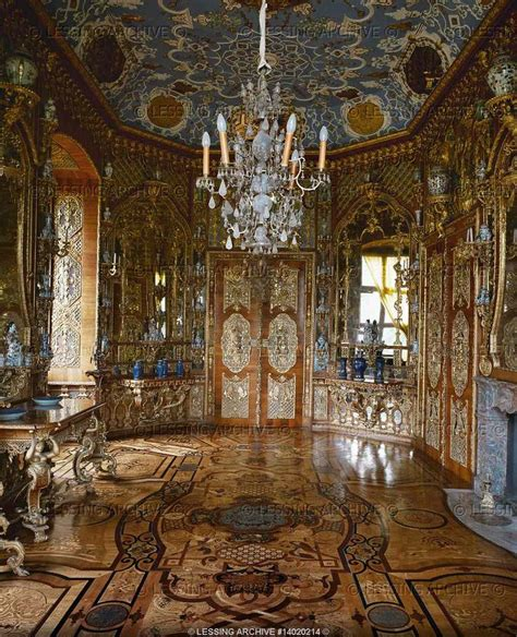 the mirror room baroque interior of the mirror room 1711 schloss weissenstein palace pommersfelden germany