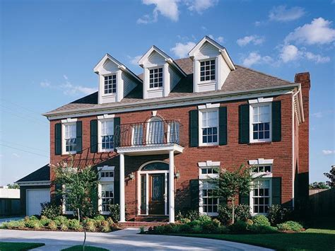 brick colonial homes red brick colonial house brick colonial homes