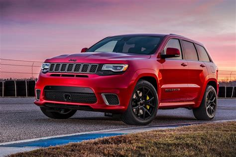 jeep grand 2018 jeep grand trackhawk is the most powerful
