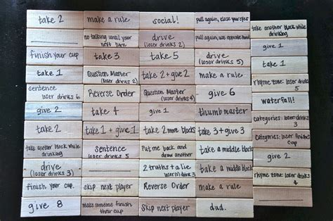 Or Jenga Ideas Great Idea For A Vocabulary Review Pizza Box Jenga Images