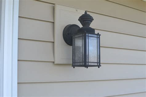 replacing light fixture replacing an outdoor light fixture a concord carpenter