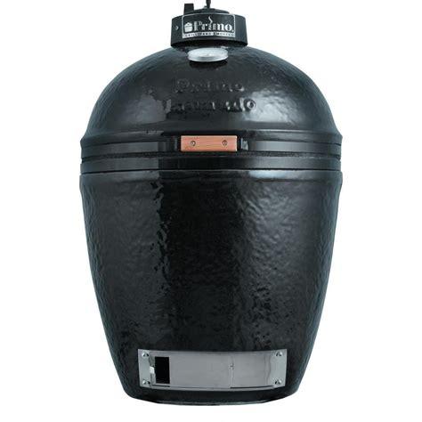 primo ceramic kamado charcoal smoker grill large round shopperschoice com