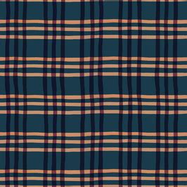 Eduardo Navy Tribal burgundy and navy check by gill seamless repeat royalty free stock pattern patternbank