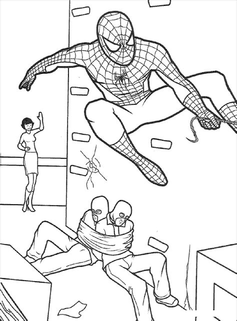 spiderman coloring pages games free print download spiderman coloring pages an enjoyable
