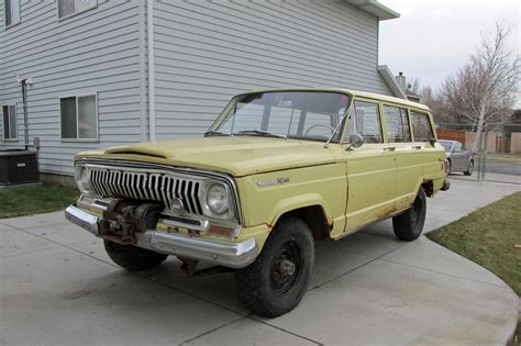 jeep factory 1966 jeep wagoneer original paint and factory winch for sale