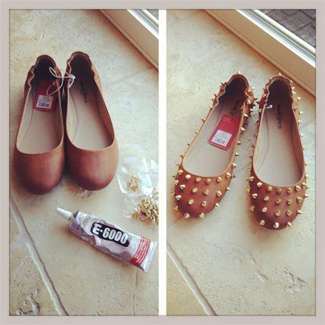 diy shoe sewpetitegal spike it easy shoe diy