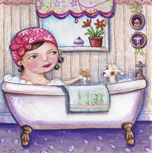 Bath Painting by Bath Time For Boo Painting By Joanna Dover