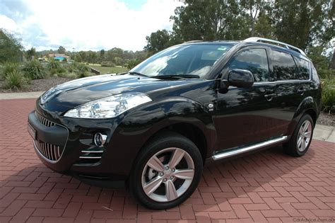 4007 peugeot review peugeot 4007 review road test caradvice