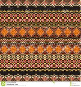 modern batik motif decoration stock illustration image