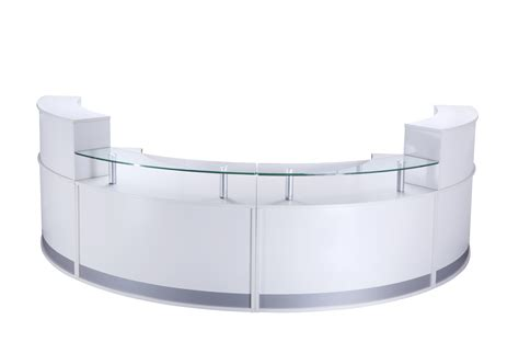 reception desk section curved modular reception counter high module rec fhr
