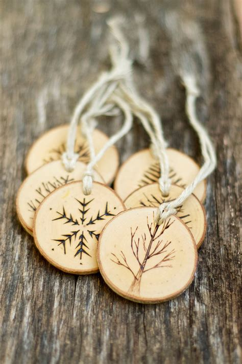 wooden christmas ornaments adorable home