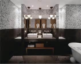 Glass Tile For Bathrooms Ideas Black White Interior Design Ideas Decosee Com