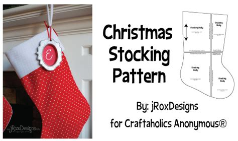 easy pattern for a christmas stocking craftaholics anonymous 174 free christmas stocking pattern