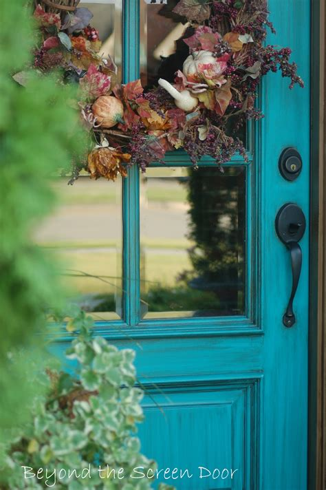 Beyond The Front Door More Turquoise Front Doors Sonya Hamilton Designs