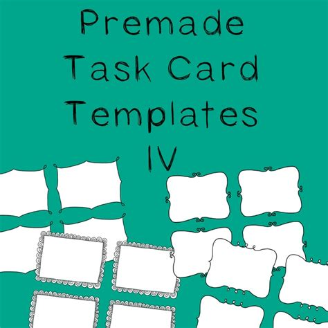 how to make task card templates 1000 images about border line on clip