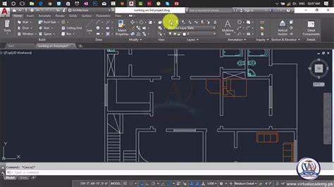 How To Add Furniture In Autocad Autocad Architecture 2017 Text And Dimensions Lesson 66 Autocad 2017 Templates