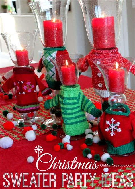 ugly christmas sweater party ideas crafts home gifts