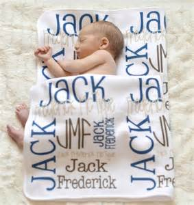 baby customized gifts personalized baby blanket monogrammed baby blanket name