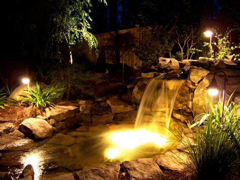 creating a relaxing environment effective elegant landscape lighting boston design guide