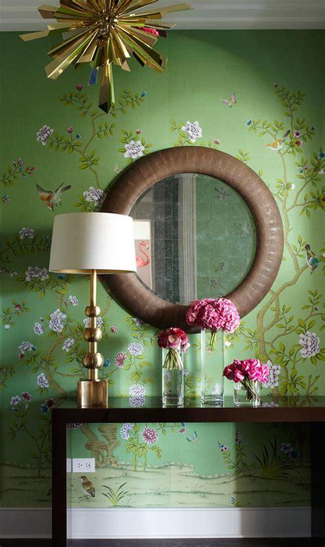 chinoiserie interiors  color  interior decorating