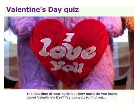 valentines question s day quiz