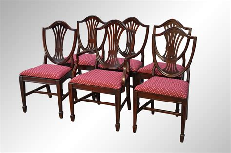 Duncan Phyfe Dining Chairs For Sale Sold Set Of Six Mahogany Duncan Phyfe Shield Back Dining Chairs Duncan Phyfe Antique