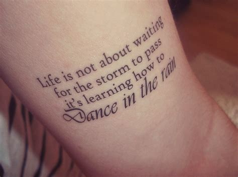dance tattoos quotes quotesgram