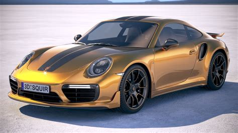Porsche Exclusive by Porsche 911 Turbo S Exclusive Series 2018