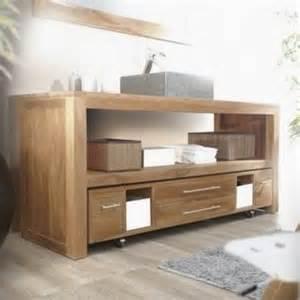 meuble salle de bain en bois pas cher meuble d 233 coration