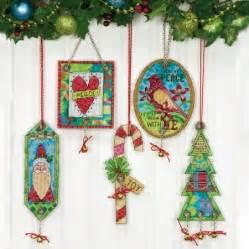 dimensions bells christmas ornament cross stitch kit 70