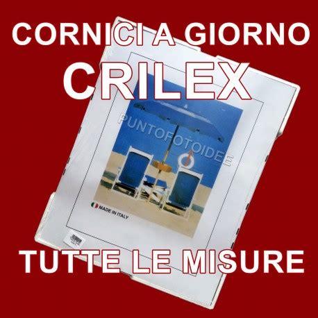 cornici plexiglass misure cornice a giorno in crilex portafoto in plexiglass dalla