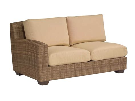 replacement cushions for sectional whitecraft saddleback lafacing loveseat sectional