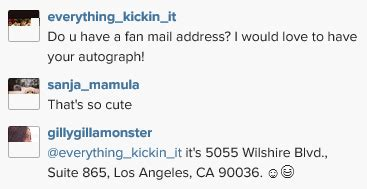fan mail address info want to send iddi cast fanmail here s how for