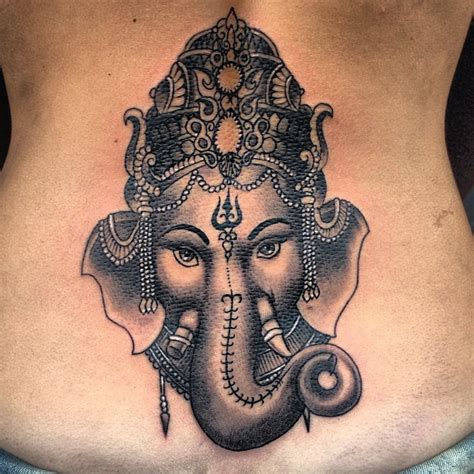 ganesh elephant tattoo ganesh ganesh tinta tattoo tatuajes ink hindu india
