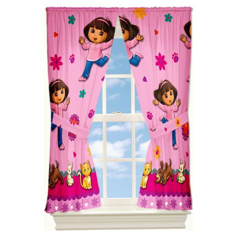 Dora The Explorer Bedroom Curtains