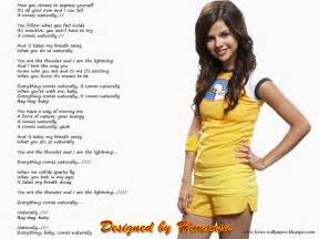 Lyrics wallpapers selena gomez naturally