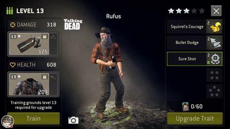 tutorial rufus 2 4 the walking dead no man s land rufus gameplay youtube