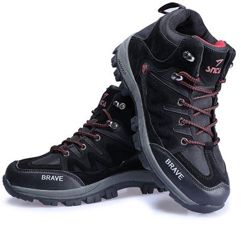 Sepatu Brave Black jual sepatu gunung trekking hiking adventure snta 419