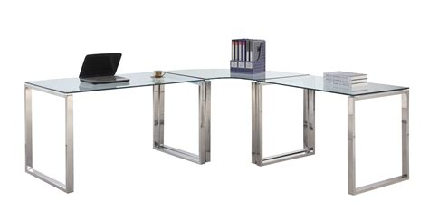 glass home office desk greenvirals style