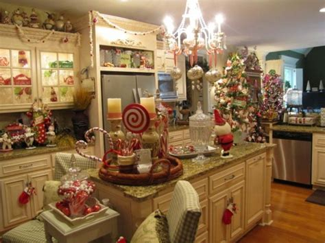kitchen island centerpiece christmas holiday 17 best images about kitchen decorating ideas for