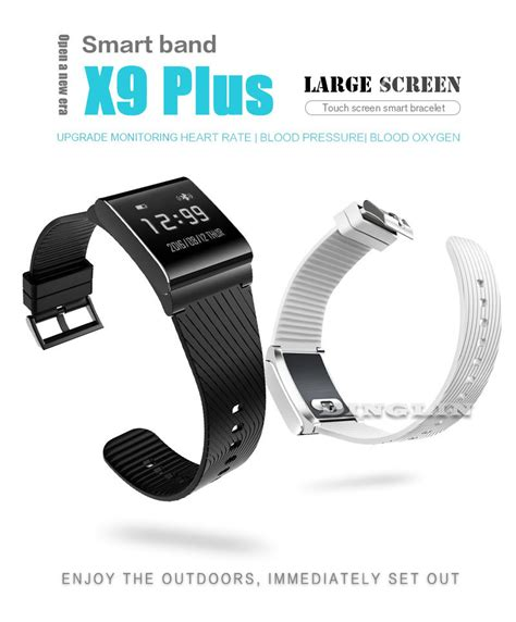 X9 Plus Blood Pressure Oxygen With Rate Monitor Murah bakeey x9 plus blood pressure oxygen rate monitor